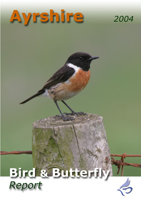 Ayrshire Bird Report 2004 (Stonechat, Ayrshire's county bird, on the front cover)