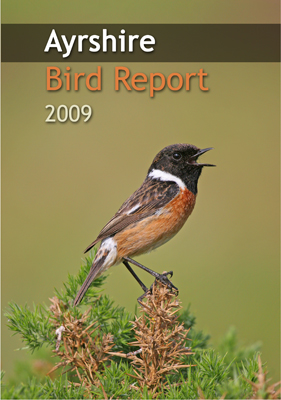 Ayrshire Bird Report 2009 - front cover