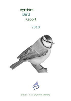 Ayrshire Bird Report 2010 - rear cover