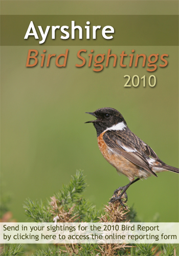Send in your sightings for the Ayrshire Bird Report 2010