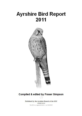 Ayrshire Bird Report 2011 - frontispiece