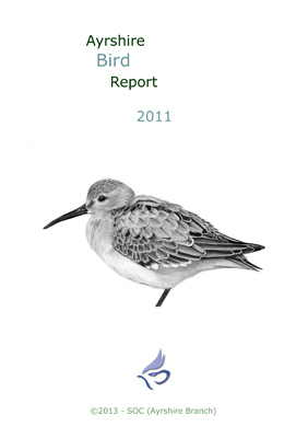 Ayrshire Bird Report 2011 - rear cover