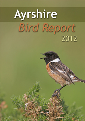 Ayrshire Bird Report 2012 - front cover