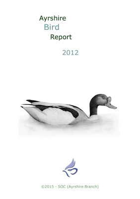 Ayrshire Bird Report 2012 - rear cover