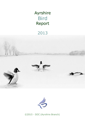 Ayrshire Bird Report 2013 - rear cover