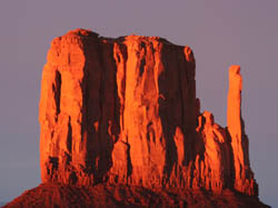 Mitten, Monument Valley, © 2006  F. S. Simpson