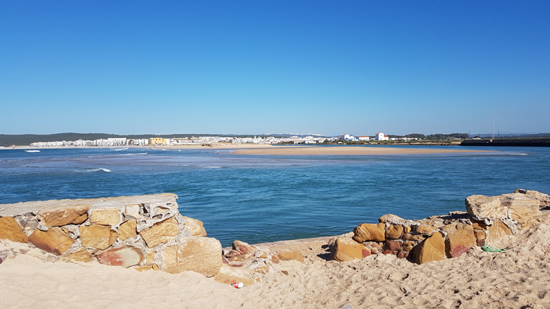 Río Barbate (river mouth) © Fraser Simpson