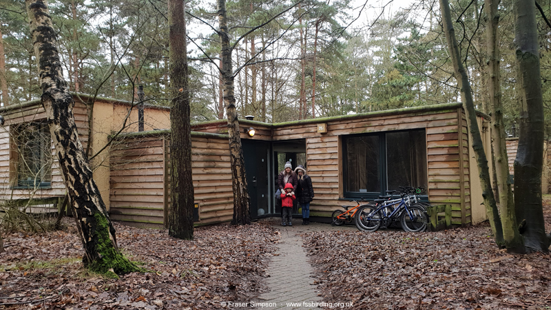Our lodge in the Pine zone, Center Parcs Elveden Forest, Suffolk  © Fraser Simpson