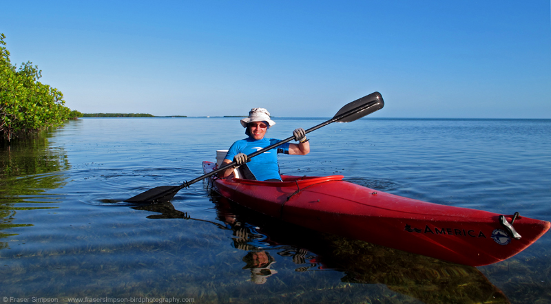 Kayaking around Summerland Key, Florida, © Fraser Simpson 2014