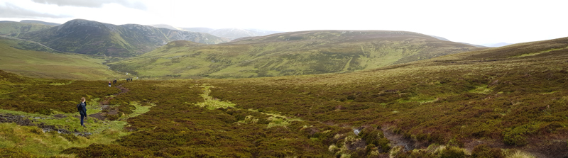 View from lower slopes of Carn an Tuirc © Fraser Simpson