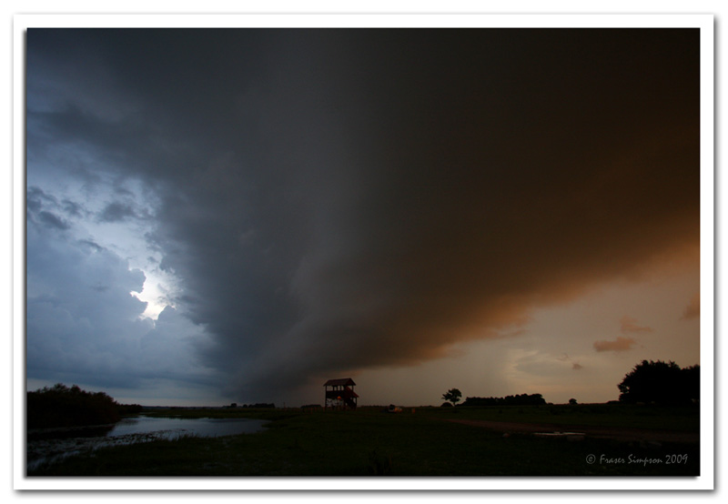 Moody skies over the Biebrza marshes © 2009 Fraser Simpson