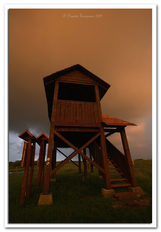 Thundery observation tower  © 2009 Fraser Simpson
