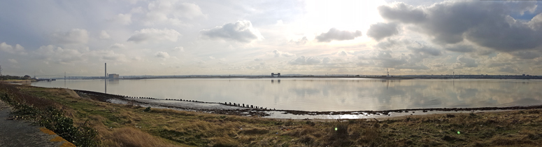 River Thames, Rainham Marshes - February 2017  © Fraser Simpson