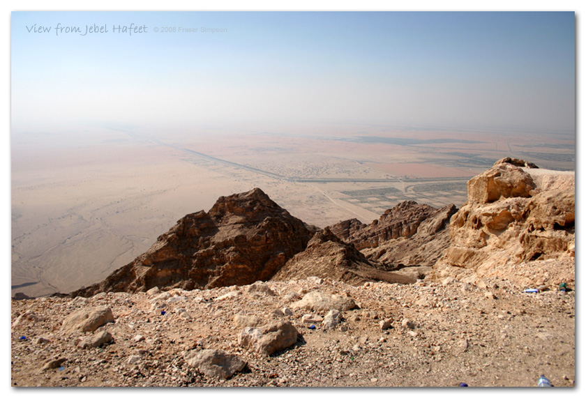 View from Jebel Hafeet � Fraser Simpson